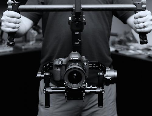 Snemanje s stabilizatorjem kamere